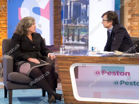 Heidi Alexander and Robert Peston