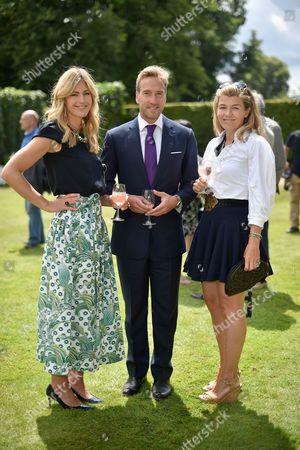 Marina Fogle, Ben Fogle and Amber Nuttall