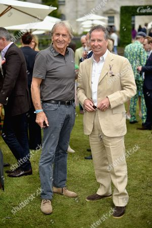 Derek Bell and Viscount David Linley