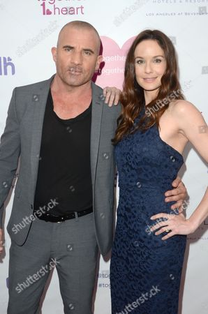 Dominic Purcell and Sarah Wayne Callies