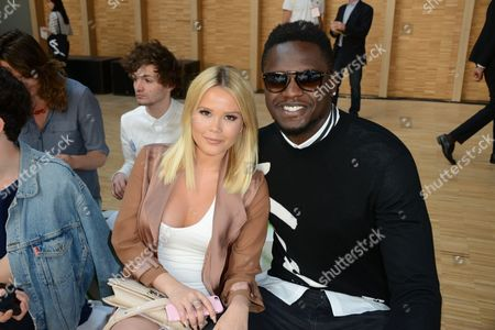 Julius Randle and his girlfriend