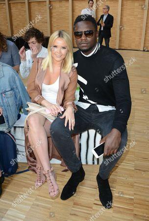 Stock Image of Julius Randle and his girlfriend