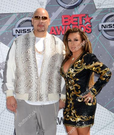 Editorial image of BET Awards, Arrivals, Los Angeles, USA - 26 Jun 2016