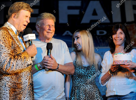 Bobby Rydell and Bruce Morrow, Lauren Hornek and Jodie Morrow