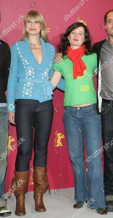 'En Soap' photocall - Trine Dyrholm and Pernille Fischer Christensen