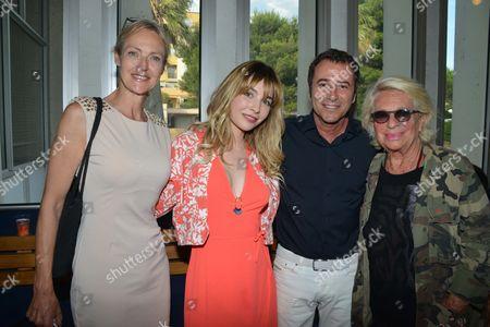 Alexandra Vandernoot, Alix Benezech, Bernard Montiel and Veronique de Villele
