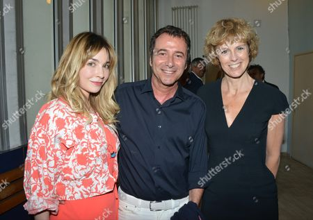 Alix Benezech, Bernard Montiel and Anne Richard