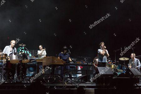 LCD Soundsystem - Al Doyle, Nancy Whang, James Murphy and Pat Mahoney