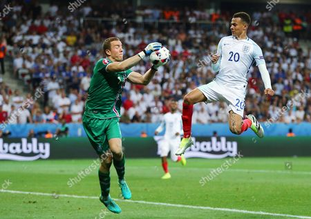 Editorial picture of Football - UEFA European Championships 2016 Round of 16 England v Iceland Grand Stade de Nice, Nice, France - 27 Jun 2016