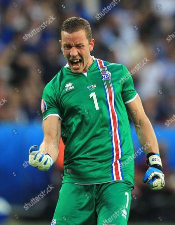 Editorial image of Football - UEFA European Championships 2016 Round of 16 England v Iceland Grand Stade de Nice, Nice, France - 27 Jun 2016