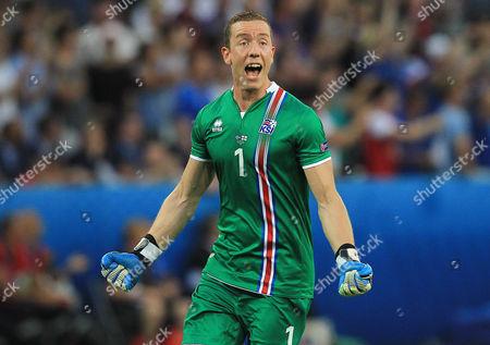 Editorial photo of Football - UEFA European Championships 2016 Round of 16 England v Iceland Grand Stade de Nice, Nice, France - 27 Jun 2016