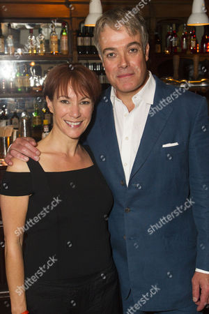 Tanya Franks (Laurence) and Robert Portal (Paul)