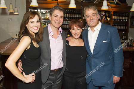 Frances O'Connor (Alice), Alexander Hanson (Michel), Tanya Franks (Laurence) and Robert Portal (Paul)