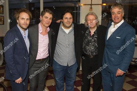 Florian Zeller (Author), Alexander Hanson (Michel), David Babani (Producer), Christopher Hampton (Adaptation) and Robert Portal (Paul)
