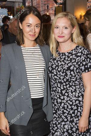 Susannah Fielding and Amy Morgan