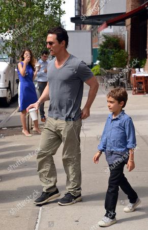 Matthew McConaughey and Levi Alves McConaughey