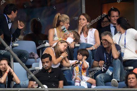Shakira, Milan Pique Mebarak and Sasha Pique