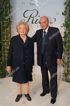 Mohammed Al Fayed and Bernadette Chirac