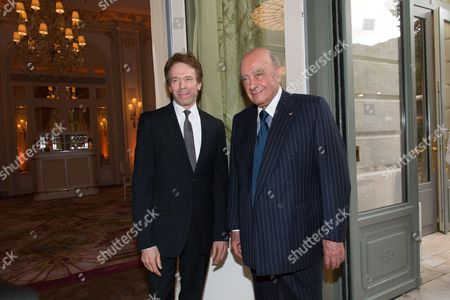 Mohammed Al Fayed and Jerry Bruckheimer