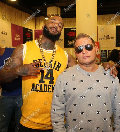 The Game and Scott Storch