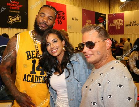 The Game and Nessa and Scott Storch