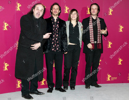Stock Photo of 'Syriana' - Paulus Manker, Michael Ostrowski, Pia Hierzegger and August Diehl.