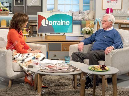 Lorraine Kelly and John Craven