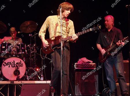 The Yardbirds - Jim McCarty, John Idan and Chris Dreja