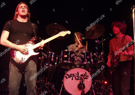 The Yardbirds - Ben King, Jim McCarty and John Idan