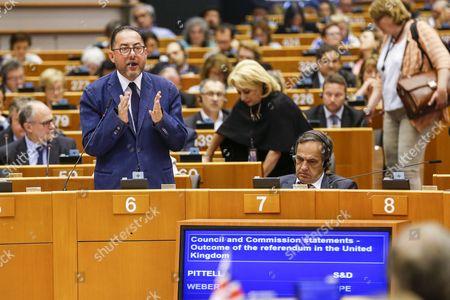 Editorial picture of Extraordinary sitting of European Parliament, Brussels, Belgium - 28 Jun 2016