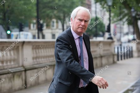 Prime Minister's National Security Adviser Sir Mark Lyall Grant arrives at the Cabinet Office in Westminster.