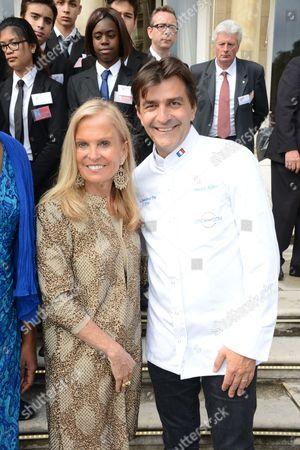 Jane D. Hartley, U.S. Ambassador to France, Yannick Alleno