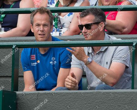 Magnus Norman and Richard Krajicek