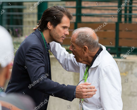 Tommy Haas and Nick Bollettieri