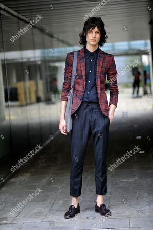 Editorial picture of Street Style, London Collections Men, Fashion Week, London, UK - 22 Jun 2016