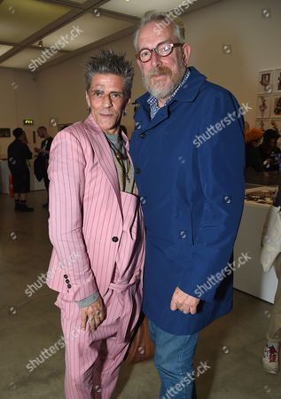 Judy Blame and guest