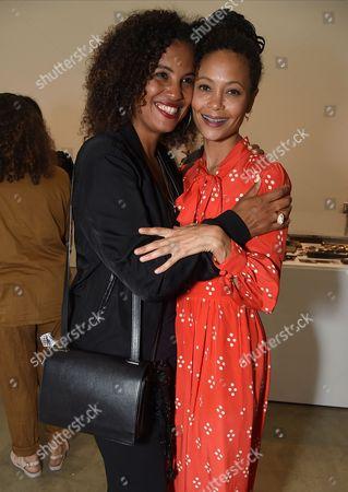 Neneh Cherry and Thandie Newton