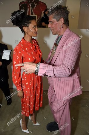 Thandie Newton and Judy Blame