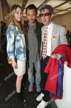 Daisy Boyd, Dan Macmillian and Dougie Field