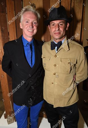 Philip Treacy with Stefan Bartlett