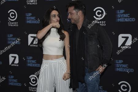 Ana de la Reguera and Raul Mendez