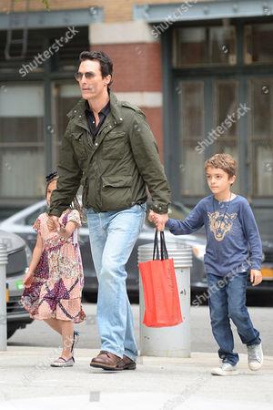 Vida Alves McConaughey, Matthew McConaughey, Levi Alves McConaughey
