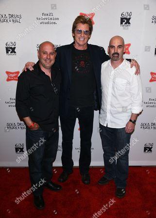 Jim Serpico, Denis Leary and Tom Sellitti