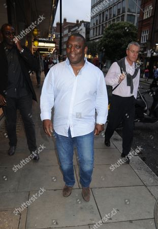 Stock Picture of Garth Crooks