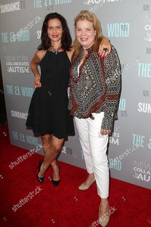Florencia Lozano and Catherine Curtin