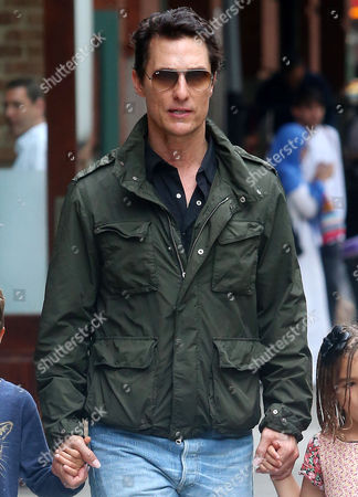 Editorial image of Matthew McConaughey out and about, New York, USA - 28 Jun 2016