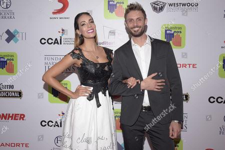 Stock Picture of Alex Brizuela and Carolina Moran