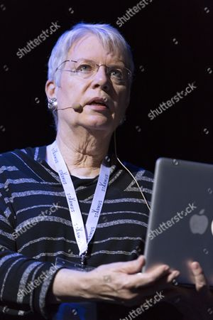 Stock Photo of Jill Tarter, American astronomer and the former director of the Center for SETI Research.