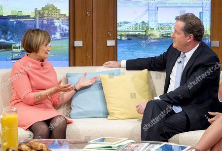 Tessa Jowell and Piers Morgan