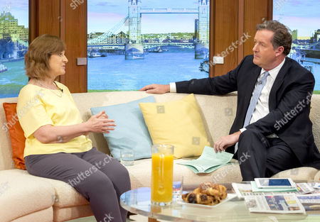 Stock Photo of Sharon Shoesmith with Piers Morgan